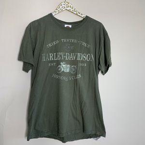 Harley Davidson T-Shirt Muskegon, Mi | Size Large